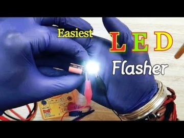 easiest #LED #Strobe Light Making | #Relay