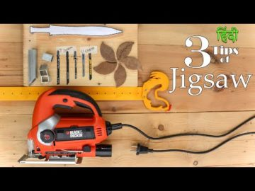 User Manual of Jigsaw Machine | How to use Jigsaw Tool | Hindi