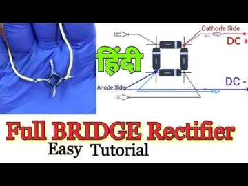 #Fullbridgerectifier Full Wave Bridge Rectifier l|HINDI| ???? ????? ??????? AC to DC Converter
